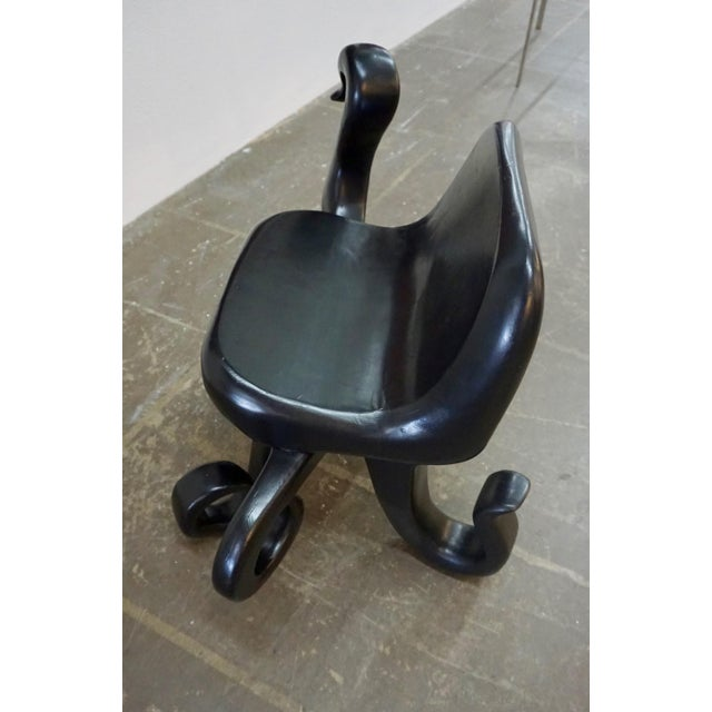 "1960s Vintage Unusual ""Octopus"" Side Chair For Sale - Image 4 of 8"