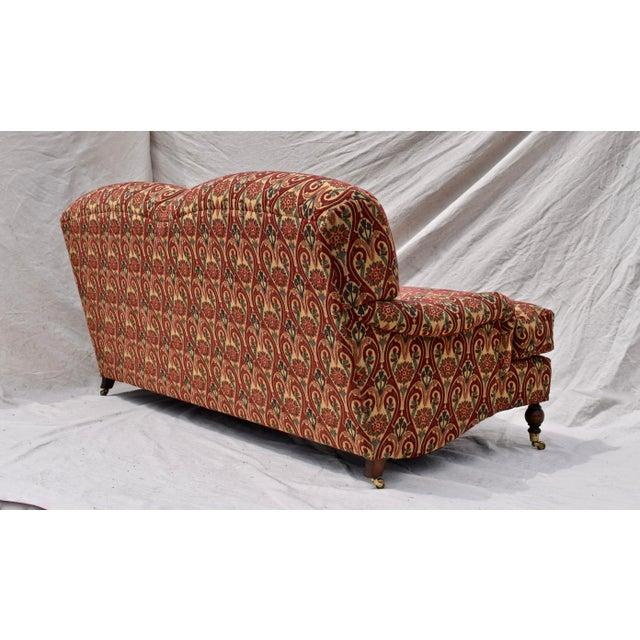 Brunschwig & Fils English Sherwood Sofa on Casters For Sale In Philadelphia - Image 6 of 10