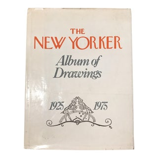 """1975 """"The New Yorker Album of Drawings"""" Signed First Edition Book For Sale"""