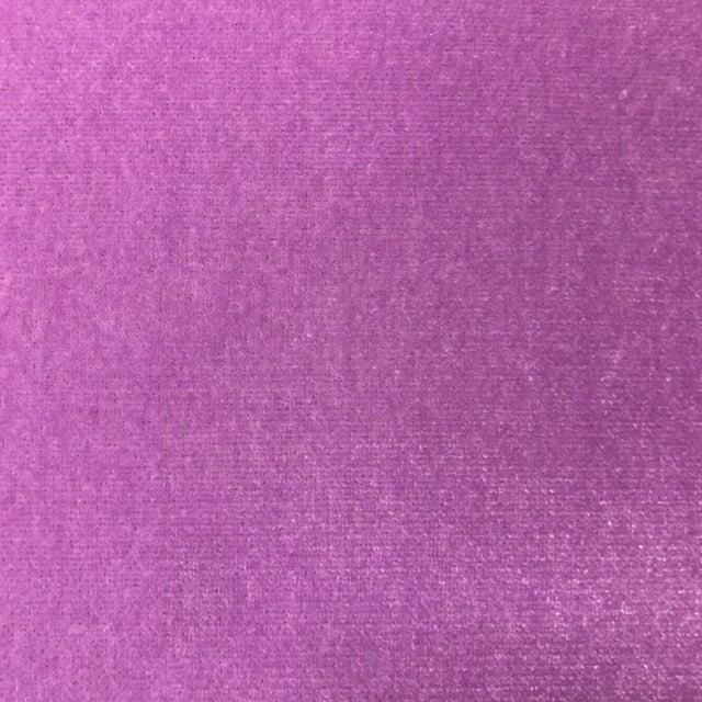 Gulassa & Co. Pink Velvet Ottoman Stools - a Pair - Image 6 of 7