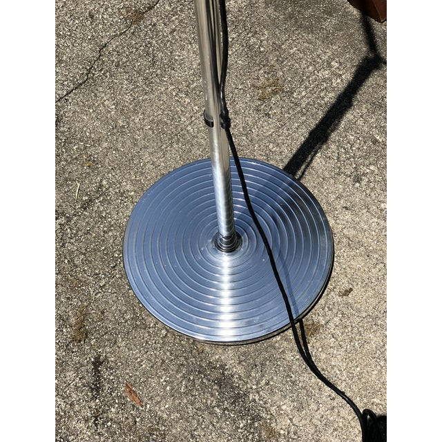 Artemide Tolomeo Mega Articulating Arc Italian Chrome Floor Lamp For Sale In West Palm - Image 6 of 12