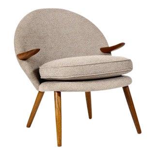 1960s Vintage Kurt Olsen for Glostrup Danish Modern Chair For Sale