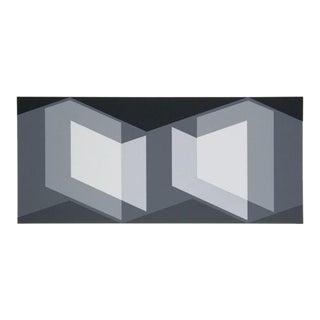 Josef Albers - Portfolio 2, Folder 7, Image 1 Framed Silkscreen For Sale