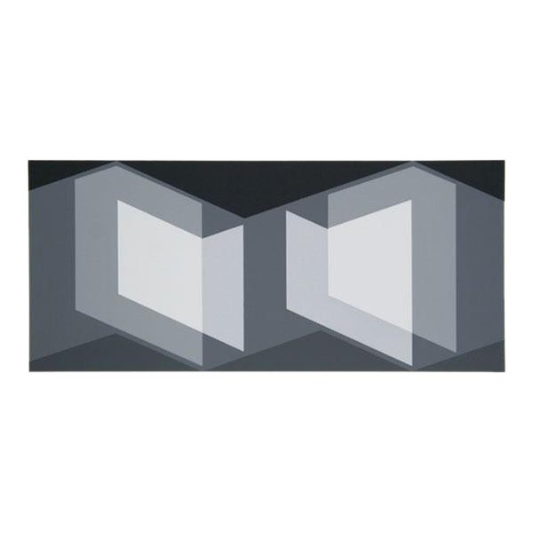 "Josef Albers ""Portfolio 2, Folder 7, Image 1"" Print - Image 1 of 3"
