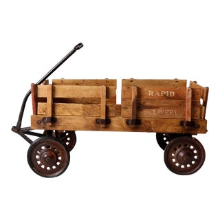 Mid-Century Garton Rapid Delivery Wagon For Sale