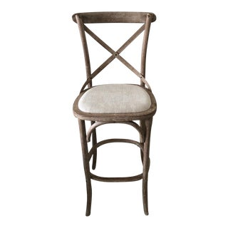 Restoration Hardware Madeleine Armless Barstool For Sale