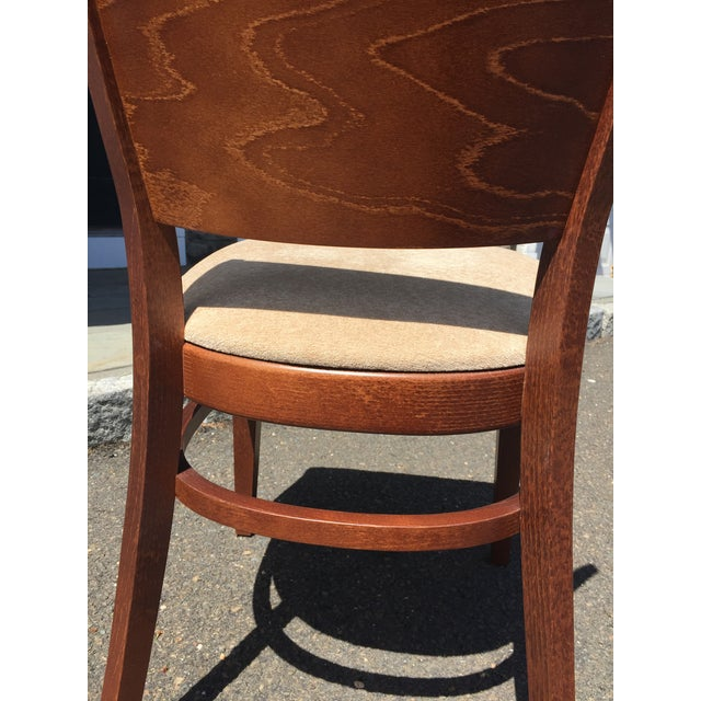 2010s Modern Beech Wood Dining Chair For Sale - Image 5 of 6