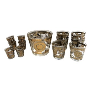 Travel Barware - Set of 13 For Sale