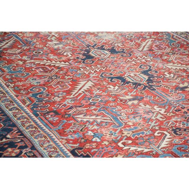 "Distressed Heriz Carpet - 8' X 11'2"" - Image 3 of 10"