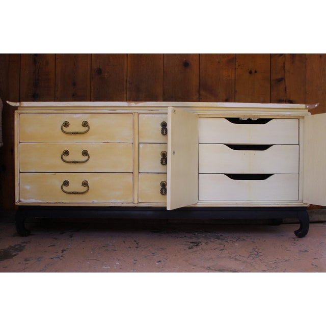 Asian 1960s Mid-Century Modern Kent Coffey Amerasia Series Solid Wood Dresser For Sale - Image 3 of 11
