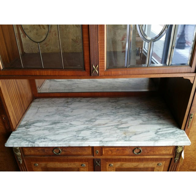 Late 20th Century Louis XVI Side by Side Buffet For Sale - Image 5 of 9