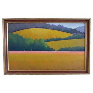 Berkshire Landscape Painting For Sale