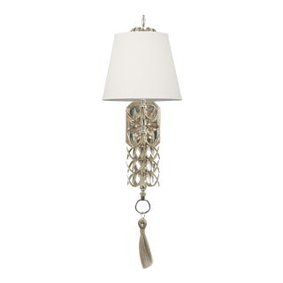 Ananas Wall Sconce - Silver For Sale
