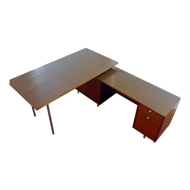 Herman Miller / George Nelson Executive Office Group Desk For Sale