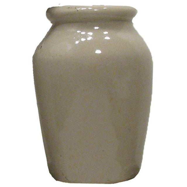 Traditional Antique English Olive Jars C.1880, S/6 For Sale - Image 3 of 5