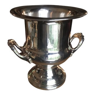 Traditional Epca Silver Plate Champagne Bucket by Gorham/Reduced For Sale