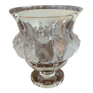 1980s Lalique Crystal France Dampierre For Sale