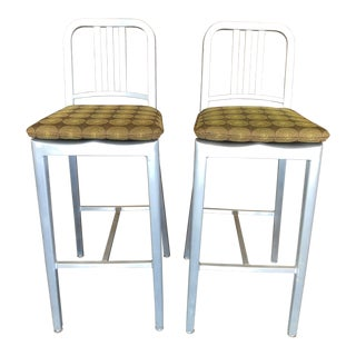 Contemporary Emeco Bar Stools - a Pair
