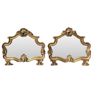 Italian Rococo Hanging Mirrors - A Pair