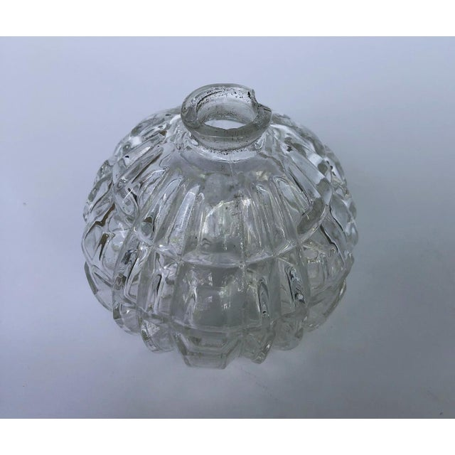 Mid 20th Century Czech Perfume Bottles Flacon Stoppers Dresser Vanity Pair For Sale - Image 5 of 6