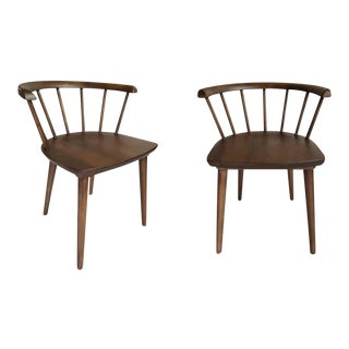 2010's Mid Century Style Mabel Dining Chairs - A Pair