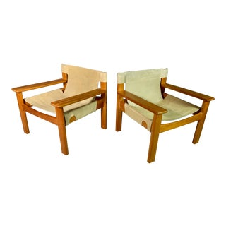 1970s Karin Mobring Natura Lounge Chairs - a Pair For Sale