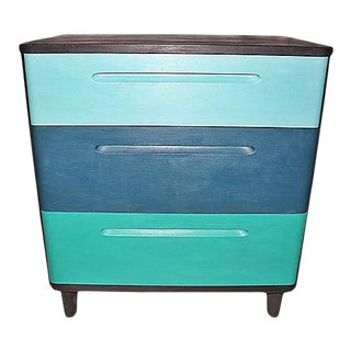 Huntington Mid-Century Modern Painted Dresser For Sale