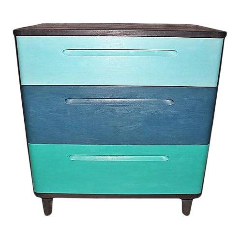 Huntington Mid-Century Modern Painted Dresser For Sale
