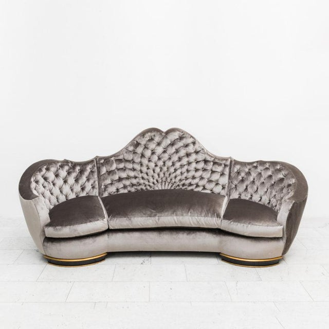 1938 French Jean Royère Windsor Sofa for Maison Gouffé For Sale - Image 9 of 9