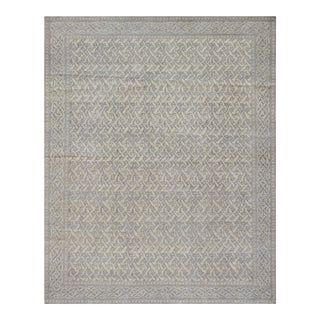 "Mansour Unique Handwoven Modern Rug - 8'1"" X 10' For Sale"