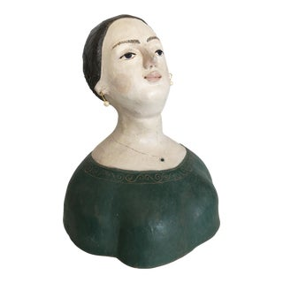 Terracotta Woman Buste/Iandulli '89