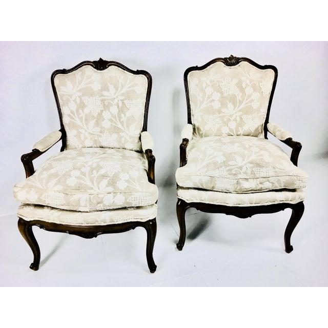 Yellow Mid Century Meijer Gunther Martini French Country Style Chairs - a Pair For Sale - Image 8 of 13