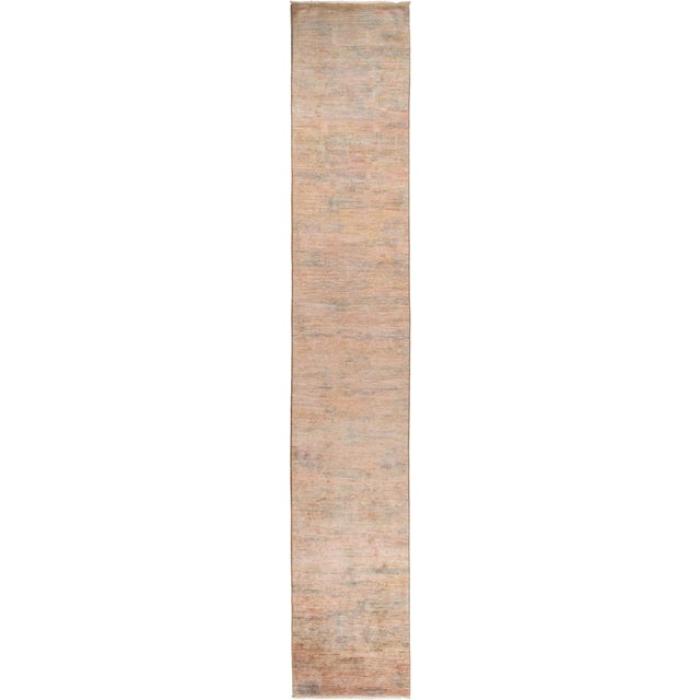 """Vibrance Hand Knotted Runner Rug - 2' 5"""" X 14' 4"""" - Image 4 of 4"""