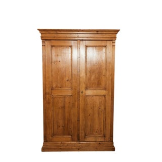 English 19th C. Pine Cupboard/Cabinet For Sale