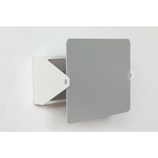 Metal Charlotte Perriand 'Applique á Volet Pivotant' Wall Light in Natural Aluminum - a Pair For Sale - Image 7 of 11