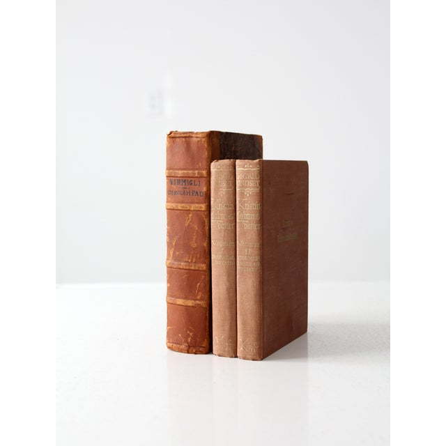 Antique Varied Book Collection - Set of 3 - Image 3 of 5