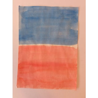 Mark Rothko-Style Watercolor 1990s Preview