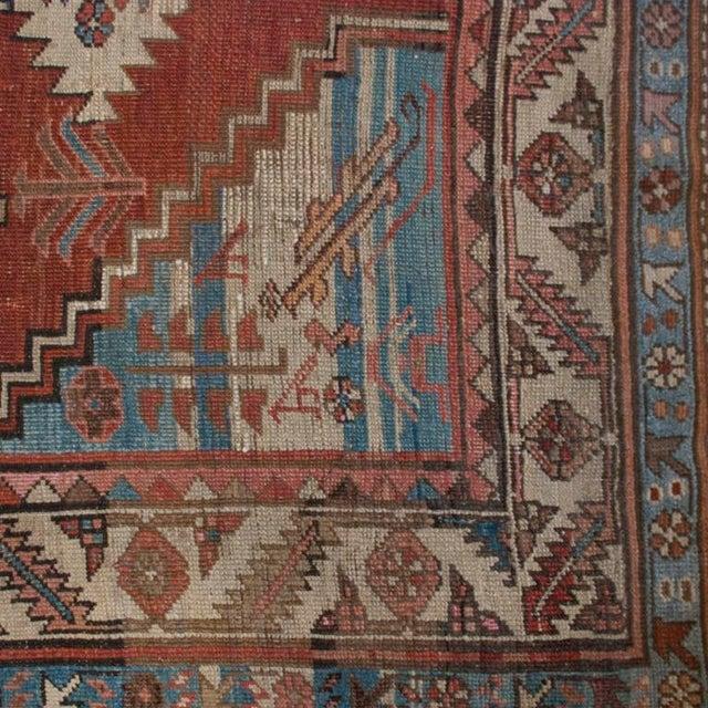 """Islamic 19th Century Bakhshayesh Carpet - 4'4"""" x 6'10"""" For Sale - Image 3 of 6"""