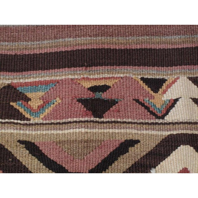 Antique Bowlan Kilim For Sale In New York - Image 6 of 6