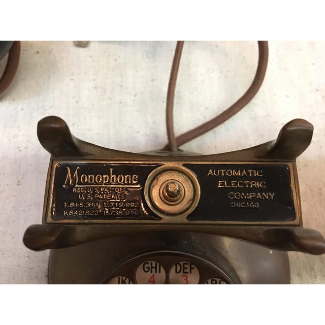 Vintage 1930's Deco Telephone - Image 5 of 6
