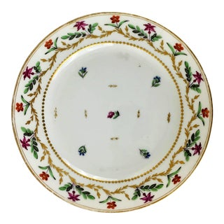 Late 18th Century Antique B. Potter Plate For Sale