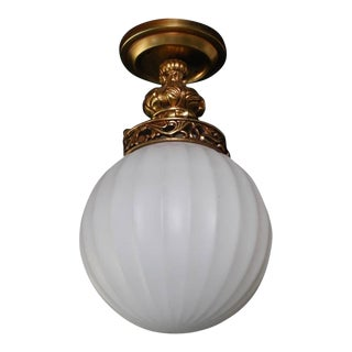 Very Rare Flush Mount Light (13 Available) For Sale