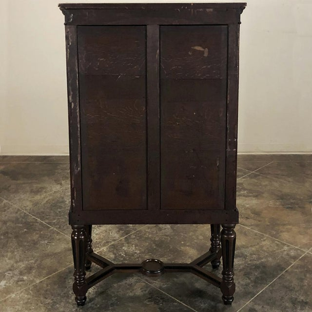 19th Century French Napoleon III File Cabinet For Sale - Image 12 of 13