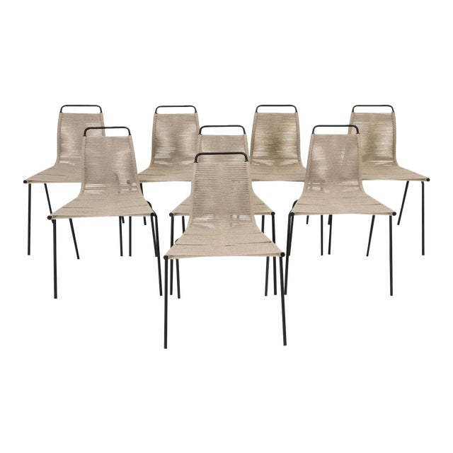 Pk-1 Dining Chairs by Poul Kjaerholm- Set of 8 For Sale
