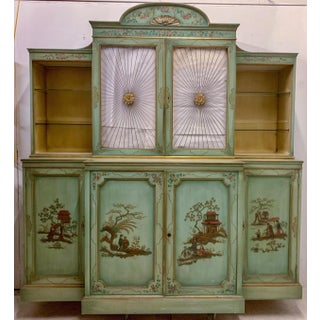 Chinoiserie Cabinet With Sunburst Doors Preview