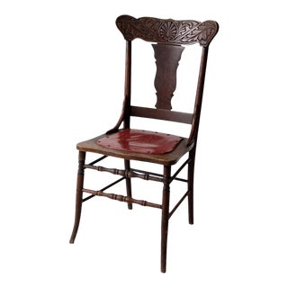 Antique Fiddle Back Chair For Sale