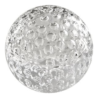 Vintage Lucite Golf Ball Ice Bucket For Sale