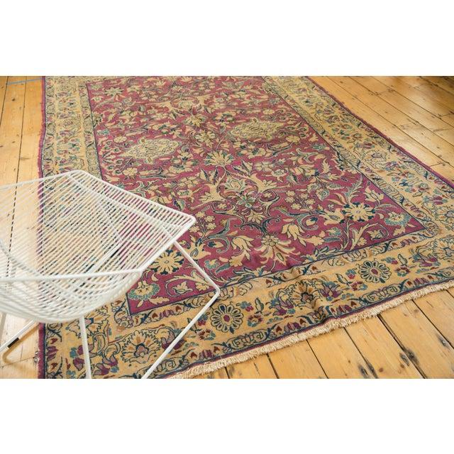 """Vintage Lilihan Carpet - 6'2"""" X 9'6"""" For Sale - Image 11 of 12"""