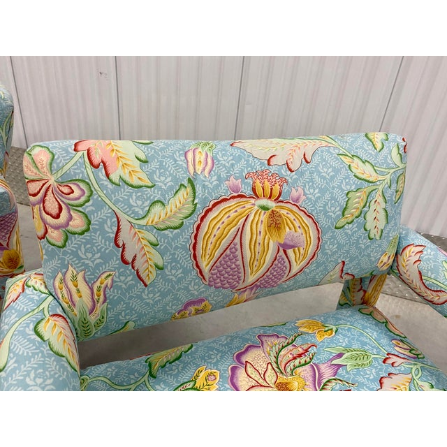 Vtg Milo Baughman for Thayer Coggin Parsons Club Chairs- A For Sale In Tampa - Image 6 of 10