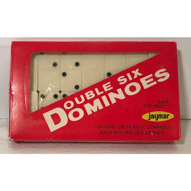Vintage Mid Century Bakelite Dominos- Set of 28 For Sale - Image 4 of 4